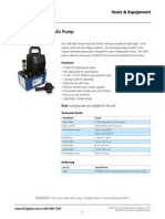 10A Electric Hydraulic Pump