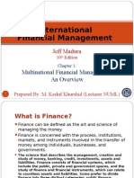 International Finance chapter 1