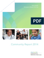 Allina Health EMS 2014 Community Report