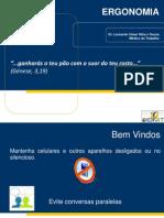 Palestra Ergonomia IBMT-1 Dr Leonardo