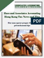 Hass and Associates Accounting Hong Kong Tax News and Tips