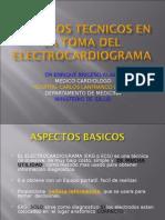 Aspectos Tecnicos en La Toma Del Electrocardiograma -2