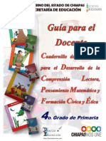 Cuadernillos de Apoyo 4c2b0 Prim Doc 2013 Chiapas