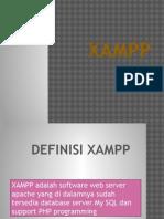 Presentasi tentang XAMPP