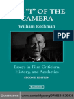 """William Rothman - The """"I"""" of the Camera Essays in Film Criticism, History, And Aesthetics"""