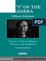 "William Rothman - The ""I"" of the Camera Essays in Film Criticism, History, And Aesthetics"