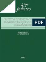 Manual de Normas Técnicas - Fametro