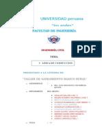 TRABAJO DE SANEAMIENTO linea de conduccion.docx