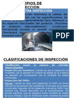 Principios de Inspección