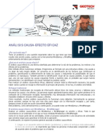 Analisis Causa Efecto