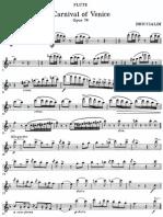 Carnival of Venice - Briccialdi - Flute