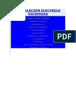 INSTALACION ELECTRICA VIVIENDAS