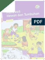 Buku Pegangan Siswa SD Kelas 2 Tema 7 Merawat Hewan Dan Tumbuhan (Matematohir.wordpress.com)