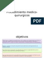 Procedimiento Medico Quirurgicos