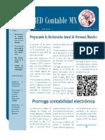 Semanario RED Contable MX Semana 10 - 2015