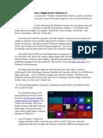 Articles 10 Reasons Customers Might Resist Windows 8