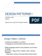 Lecture 8-Design Patterns Introduction