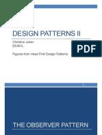 Lecture 9-Design Patterns Part 2