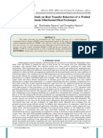 An Experimenatl Study on Heat Transfer Behaviors of A Welded - Aluminum Minichannel Heat Exchanger