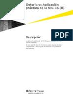Deterioro Aplicacion Practica de La NIC 36 II