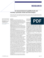 Physical Capability and Mortality