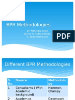BPR Methdology