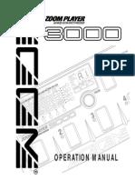 Zoom.E 3000.Manual