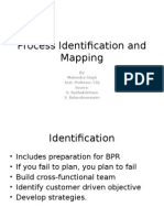 Process Identification and Mapping