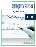 Weekly Equity Report 09-03-15