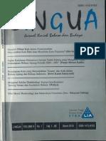 LINGUA STBA LIA (Vol. 9, No. 1, 2010)