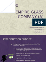 Empire Glass Company (a) New Latest