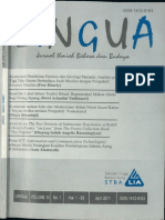 LINGUA STBA LIA (Vol. 10, No. 1, 2011)