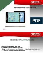Tablet b7916e 8gb y 16 Gb