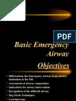 Basic Airway Management