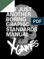 xgamesBrandGuidelinesBook (School Project)