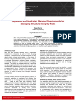 Technical Article - Legislative and Australian Standard Requirements for Managing Structural Integrity Risks - Revised