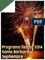 Programa Fiestas Monovar 2014