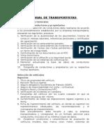 Manual de Transportistas