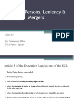 Class 10 Mergers and Acquisitions