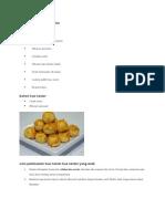 Cara Membuat Kue Nastar