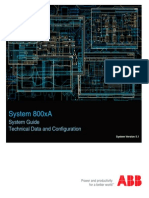 3BSE041434-510 D en System 800xA 5.1 System Guide Technical Data and Configuration