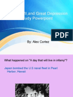 wwi, wwii, and great depression study powerpoint