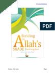 Str Ding in Allah s Shade