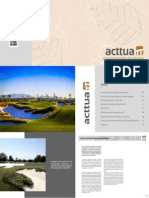 Dossier Acttua Golf Services 2014