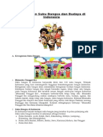 Keragaman Suku Bangsa Dan Budaya Di Indonesia