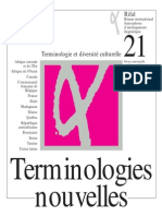 Terminologie Nouvelle Rita Temmerman