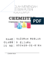 Chemical for Consumer Form 5