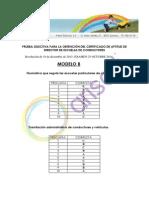 244244898 Corrector Directores Modelo B 2014 Arisoft