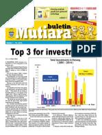 Buletin Mutiara - Mac #1, 2015
