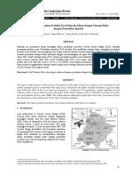 EVALUASI PERUBAHAN PERILAKU EROSI DAERAH ALIRAN SUNGAI CITARUM HULU DENGAN PEMODELAN SPASIAL.pdf